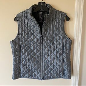 Relativity quilted vest gray